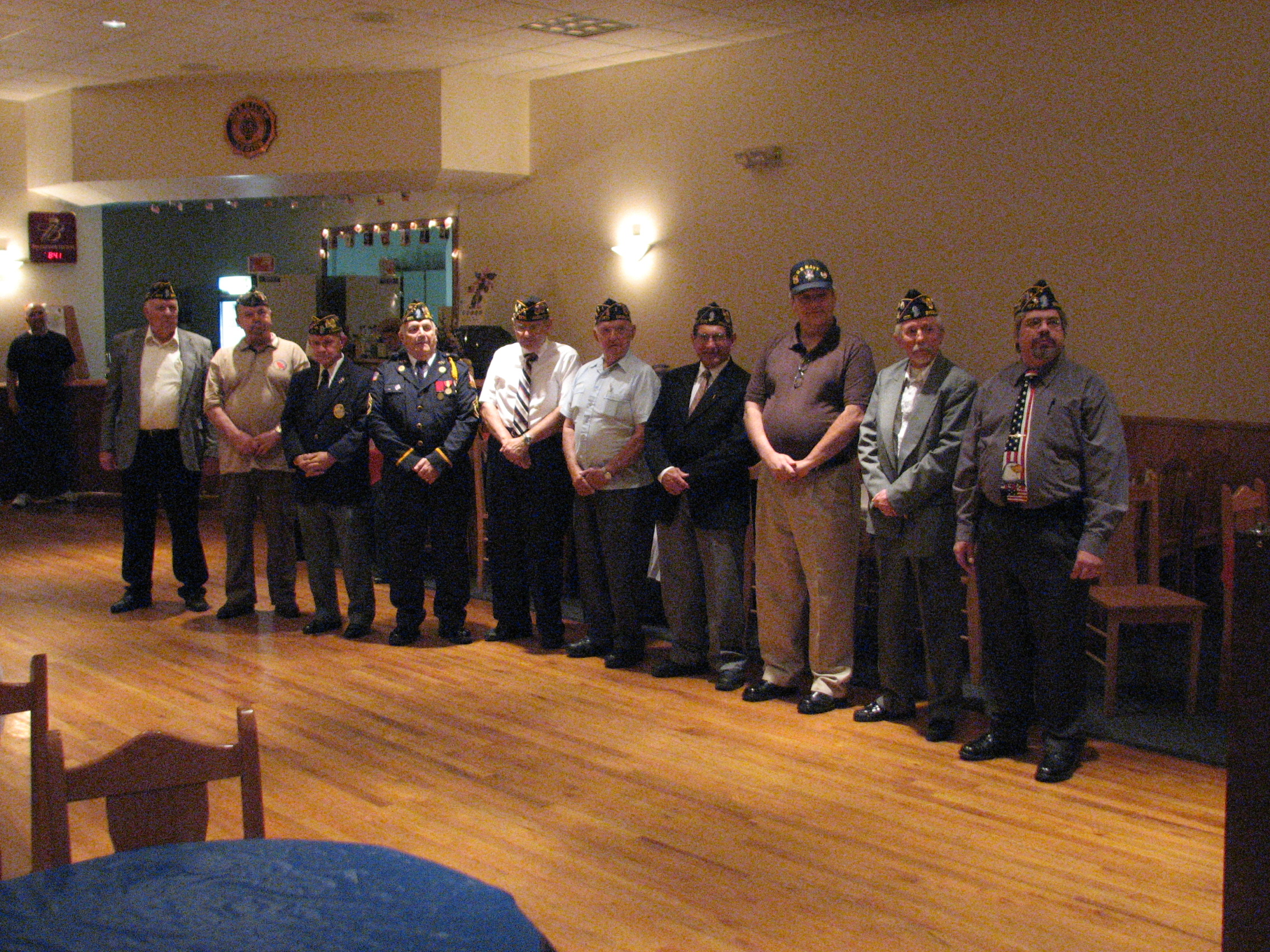 Officers For The 2009 -2010 Leigon Year.