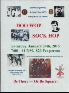 50's Dance Flyer