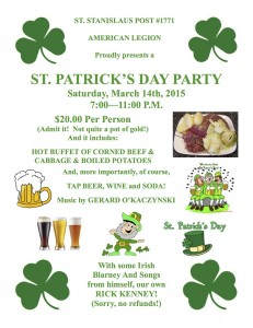 St. Paddy's Flyer 2015